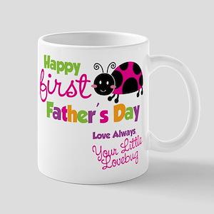 Ladybug 1st Fathers Day Mug