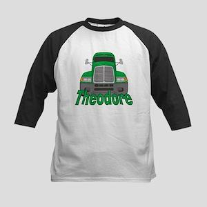 Trucker Theodore Kids Baseball Jersey