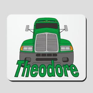Trucker Theodore Mousepad