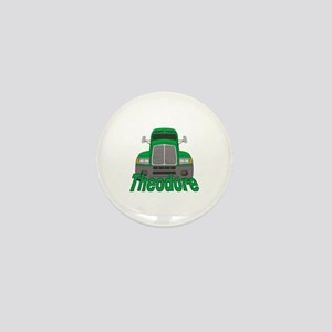 Trucker Theodore Mini Button