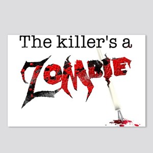 The killers a zombie Postcards (Package of 8)