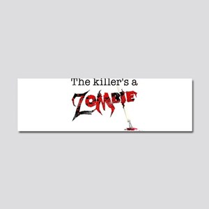 The killers a zombie Car Magnet 10 x 3