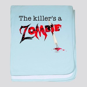The killers a zombie baby blanket