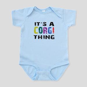 Corgi THING Infant Bodysuit