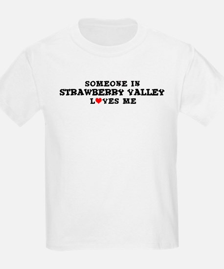 Strawberry Valley: Loves Me Kids T-Shirt