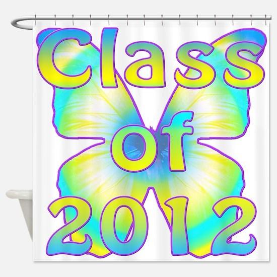 Class of 2012 Shower Curtain