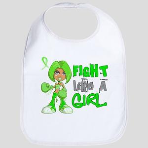 Licensed Fight Like a Girl 42.8 NH Lymphoma Bib