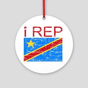 I Rep Democratic Republican Ornament (Round)