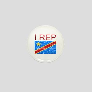 I Rep Democratic Republican Mini Button