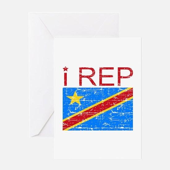 I Rep Democratic Republican Greeting Card