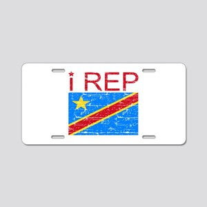 I Rep Democratic Republican Aluminum License Plate