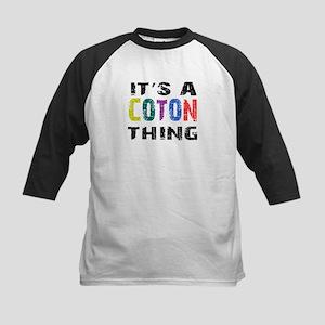 Coton THING Kids Baseball Jersey