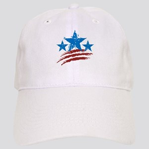 Red White Blue Cap