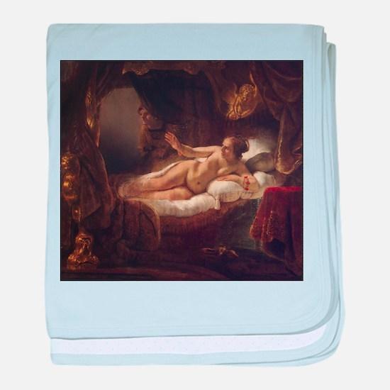 Rembrandt Danae baby blanket