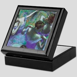 Edgar Degas Blue Dancers Keepsake Box