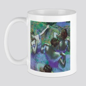 Edgar Degas Blue Dancers Mug