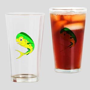 Mahi Colored Drinking Glass