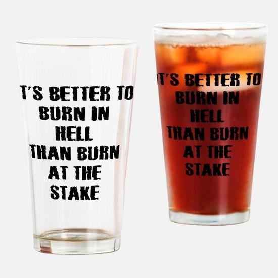 Anti religion Drinking Glass