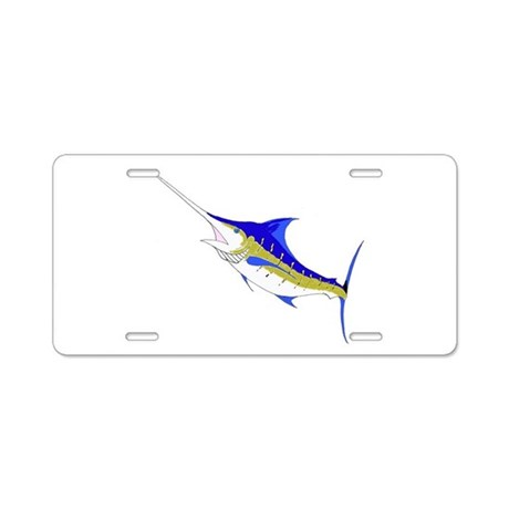 Marlin Aluminum License Plate
