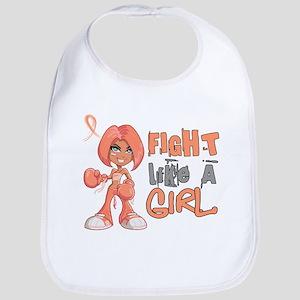 Licensed Fight Like a Girl 42.8 Endometrial Ca Bib