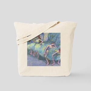Edgar Degas Dancers In The Wings Tote Bag