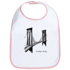 Brooklyn Bridge (Sketch) Bib