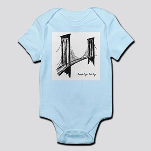 Brooklyn Bridge (Sketch) Infant Bodysuit