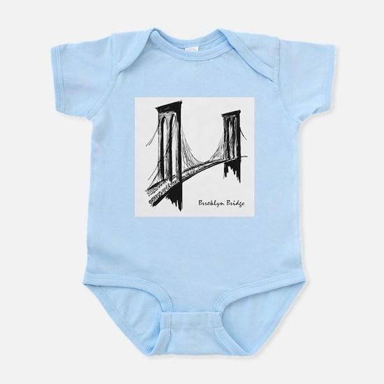 Brooklyn Bridge (Sketch) Infant Bodysuit