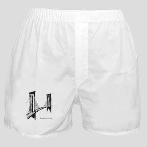 Brooklyn Bridge (Sketch) Boxer Shorts