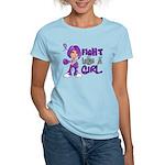 Licensed Fight Like a Girl 4 Women's Light T-Shirt