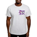 Licensed Fight Like a Girl 42.8 Chia Light T-Shirt