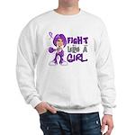 Licensed Fight Like a Girl 42.8 Chiari Sweatshirt