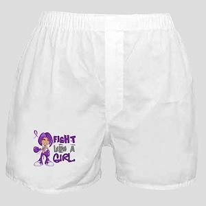 Licensed Fight Like a Girl 42.8 Chiar Boxer Shorts
