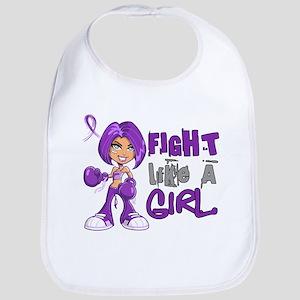 Licensed Fight Like a Girl 42.8 Chiari Bib