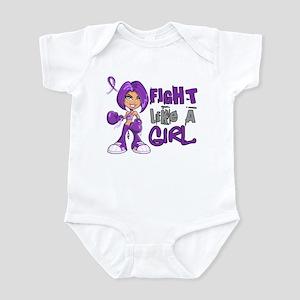 Licensed Fight Like a Girl 42.8 Ch Infant Bodysuit