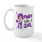 Licensed Fight Like a Girl 42.8 Chiari Large Mug