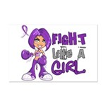 Licensed Fight Like a Girl 42.8 Mini Poster Print