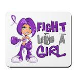 Licensed Fight Like a Girl 42.8 Chiari Mousepad