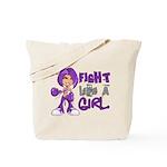 Licensed Fight Like a Girl 42.8 Chiari Tote Bag