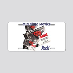 Old Time Movie Horror Hotel Aluminum License Plate