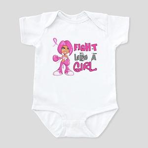 Licensed Fight Like a Girl 42.8 Infant Bodysuit