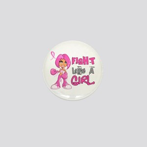 Licensed Fight Like a Girl 42.8 Mini Button