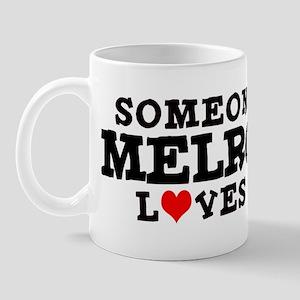 Melrose: Loves Me Mug