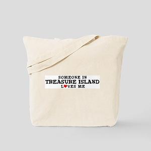 Treasure Island: Loves Me Tote Bag