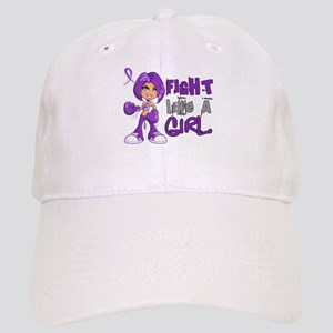 Licensed Fight Like a Girl 42.8 Anorexia Cap