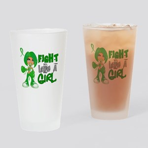 Licensed Fight Like a Girl 42.8 Cer Drinking Glass