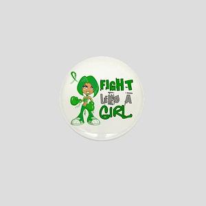 Licensed Fight Like a Girl 42.8 Cerebr Mini Button