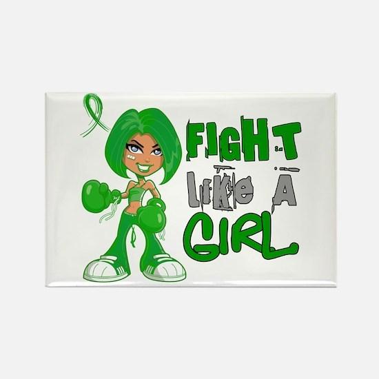 Licensed Fight Like a Girl 42.8 C Rectangle Magnet