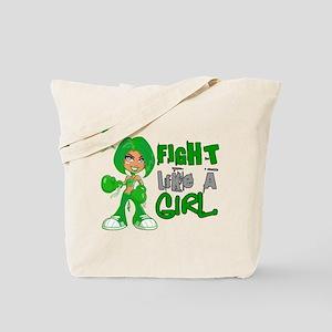 Licensed Fight Like a Girl 42.8 Cerebral Tote Bag