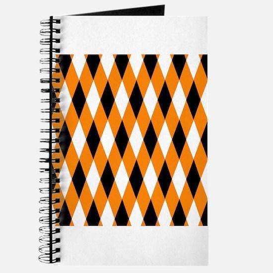 Black Orange White Diamonds.jpg Journal